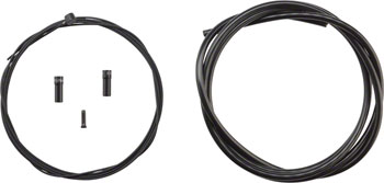 Mutant Bikes Fiber Glass Cable and Housing Set. 1.5mm Stainless Wire, Fiber Glass Housing, Black