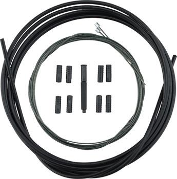 Shimano XTR SP41 Polymer-Coated Derailleur Cable Set, Black