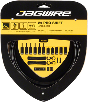 Jagwire Pro Shift Kit Road/Mountain SRAM/Shimano, Black