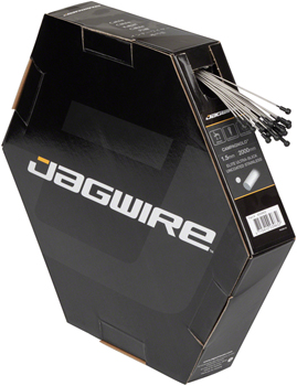 Jagwire Elite Ultra-Slick Brake Cable 1.5x2000mm Polished Slick Stainless Campagnolo, Box of 25