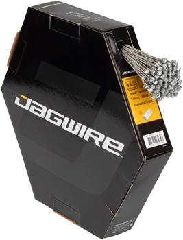 Jagwire Brake Cable Basics 1.6x2000mm Stainless SRAM/Shimano MTB, Box of 100