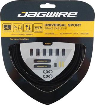 Jagwire Universal Sport Brake Cable Kit, Black