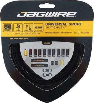 Jagwire Universal Sport Shift Cable Kit, Black