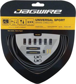 Jagwire Universal Sport Brake Cable Kit, Ice Gray