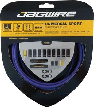 Jagwire Universal Sport Shift Cable Kit, Purple