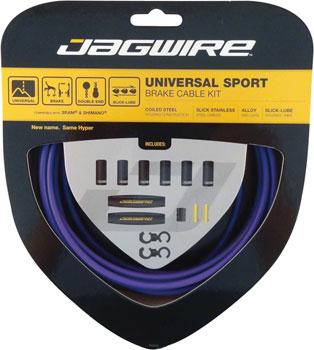 Jagwire Universal Sport Brake Cable Kit, Purple