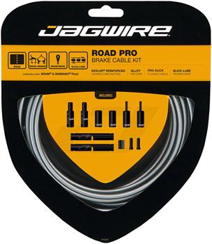 Jagwire Pro Brake Cable Kit Road SRAM/Shimano, Ice Gray