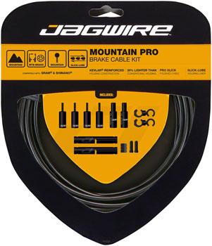 Jagwire Pro Brake Cable Kit Mountain SRAM/Shimano, Black