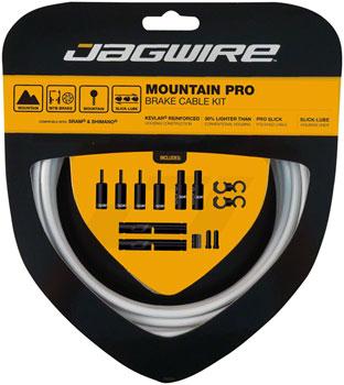 Jagwire Pro Brake Cable Kit Mountain SRAM/Shimano, White