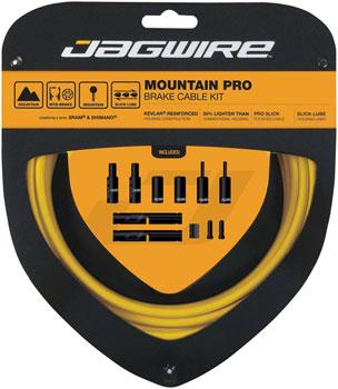 Jagwire Pro Brake Cable Kit Mountain SRAM/Shimano, Yellow