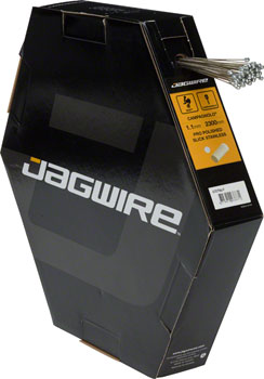Jagwire Pro Polished Slick Stainless Derailleur Cable Box/50 1.1x2300mm Campagnolo