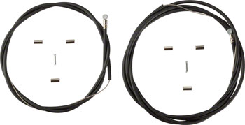 Shimano Stainless MTB Brake Cable and Housing Set, Black