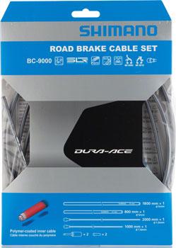 Shimano Dura-Ace BC-9000 Polymer-Coated Brake Cable Set, High-Tech Gray