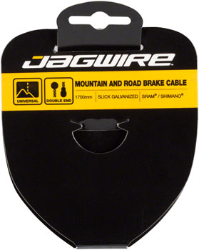 Jagwire Sport Brake Cable Slick Stainless 1.5x2750mm SRAM/Shimano Mountain/Road Tandem