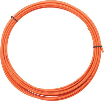 Jagwire 4mm Sport Derailleur Housing with Slick-Lube Liner 10M Roll, Orange