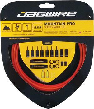Jagwire Mountain Pro Derailleur Kit Maxxis Orange