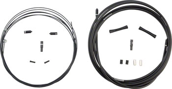 SRAM SlickWire MTB 5mm Brake Cable and Housing Set, Black