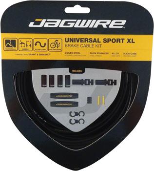 Jagwire Universal Sport Brake XL Kit, Black