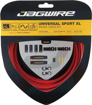 Jagwire Universal Sport Brake XL Kit, Red