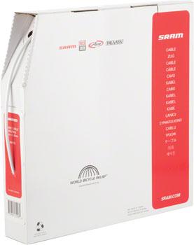 SRAM 5mm Brake Cable Housing White, 30 Meter Filebox