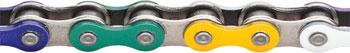 KMC Z510HX Chain: 1/8 112 Links Rainbow