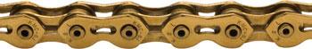KMC K710SL SuperLite Kool Chain: 1/8 100 Links Ti Nitride Gold
