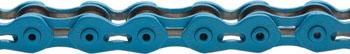 KMC K710SL SuperLite Kool Chain: 1/8 100 Links Blue