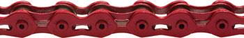 KMC K710SL SuperLite Kool Chain: 1/8 100 Links Red