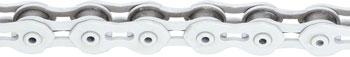 KMC K710SL SuperLite Kool Chain: 1/8 100 Links White