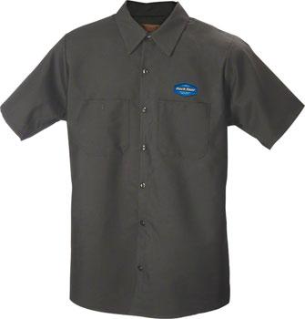 Park Tool MS-1.2 Mechanic Shirt Med Charcoal