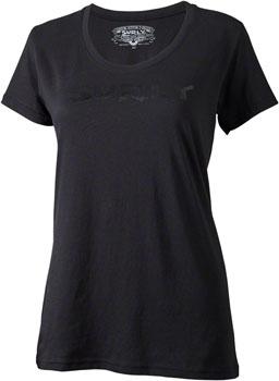 Surly Logo Women's T-Shirt: Black/Black SM