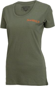 Surly Ogre Women's T-Shirt: Green XL