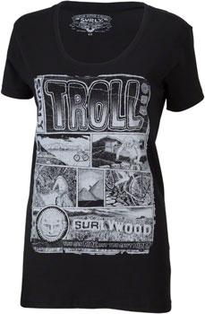 Surly Troll Women's T-Shirt: Black SM