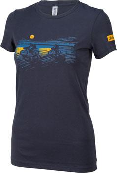 Salsa Overnighter Women's T-Shirt: Blue SM
