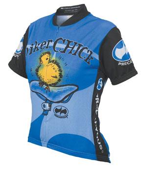 f2973d87d World Jerseys Women s Biker Chick Cycling Jersey  Blue
