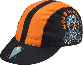 World Jerseys Moab Especial Cycling Cap: Black/Orange