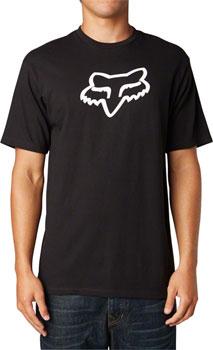 Fox Racing Legacy Fox Head Short Sleeve T-Shirt: Black LG