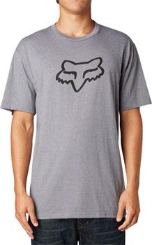 Fox Racing Legacy Fox Head Short Sleeve T-Shirt: Heather Graphite MD