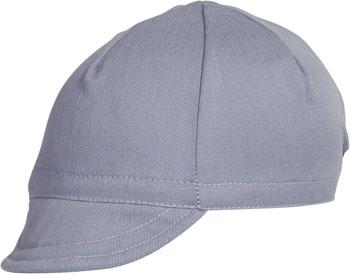 Pace Sportswear Euro Soft Bill Cycling Cap: Slate, MD/LG
