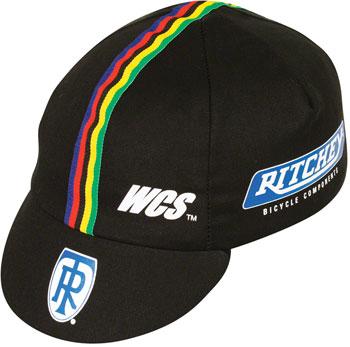 Pace Sportswear Ritchey Cycling Cap: Black