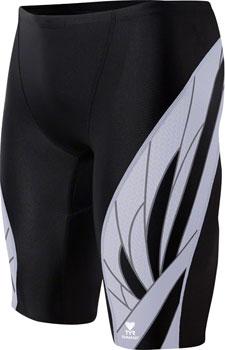 TYR Phoenix Splice Jammer Men's Swimsuit: Black/White 30