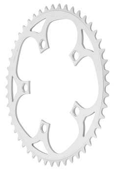 Sugino 50t x 110mm 5-Bolt Mountain Outer Chainring Anodized Silver