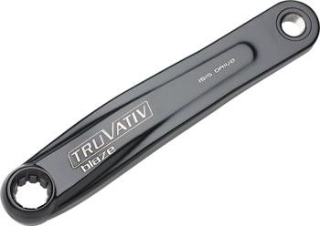 TruVativ Left ISIS Crank Arm 175mm Black with Blaze Logo