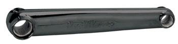 Profile Racing Left Race No Boss Crank Arm, 175mm Black