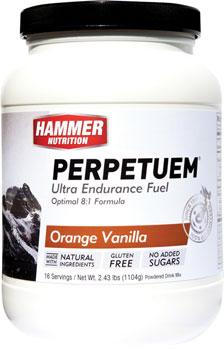 Hammer Perpetuem: Orange-Vanilla 16 Servings