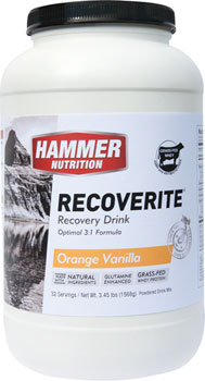 Hammer Recoverite: Orange Vanilla 32 Servings