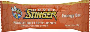 Honey Stinger Energy Bar: Peanut Butter n' Honey, Box of 15