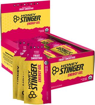 Honey Stinger Organic Energy Gel: Fruit Smoothie, Box of 24