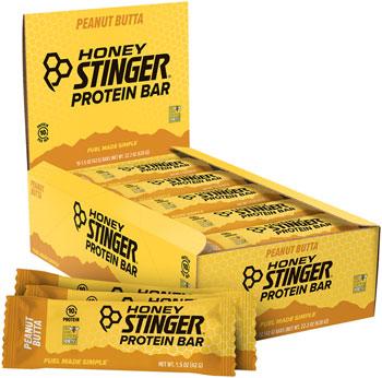 Honey Stinger 10g Protein Bar: Peanut Butta, Box of 15