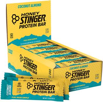 Honey Stinger 10g Protein Bar: Chocolate Coconut Almond, Box of 15